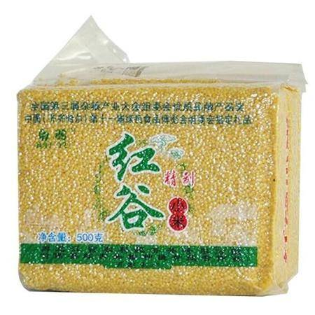 白羽 红谷 小米 500g/袋