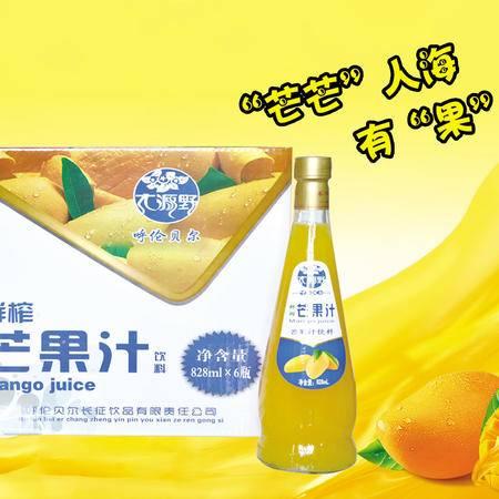 大源野芒果汁饮料828ml