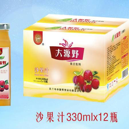 大源野沙果汁饮料330ml