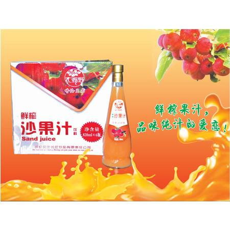 大源野沙果汁饮料828ml