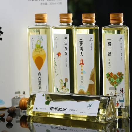 五季双秋(纯野生茶籽油)礼盒 300ml*5