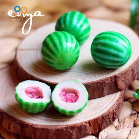 Fini/菲尼 西瓜夹心口香糖 西瓜味泡泡糖4粒装20g 进口糖果零食品