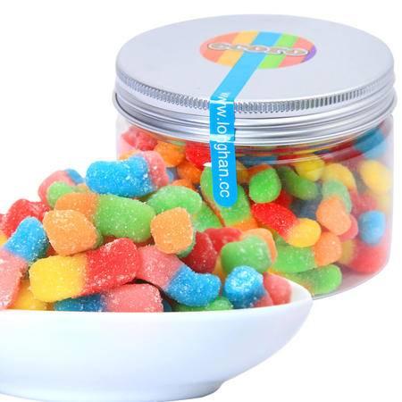ecoro怡可诺酸小虫橡皮糖 QQ糖果汁软糖派对休闲零食150g*3罐