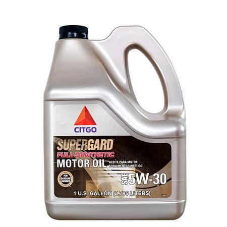 CITGO全合成机油SN级5W-30发动机润滑油  全合成发动机油3.78L美国进口