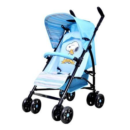 小天使婴儿伞车推车 史努比snoopy多段调节婴儿手推车可旋转把手