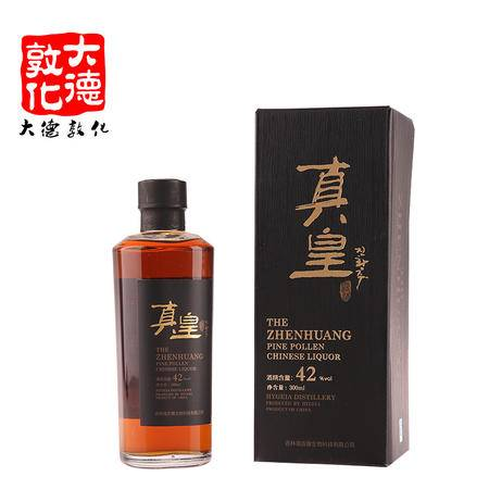 【延边馆】【大德敦化】海吉雅 真皇酒 42度 300mlZBYY165