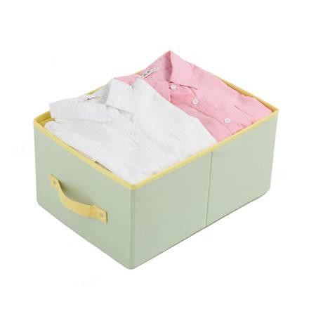 创意家居挂袋抽屉盒 无盖收纳盒储物盒 衣物整理盒折叠收纳箱 收纳盒 大号大号抽屉盒