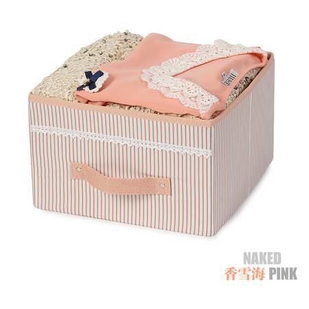 创意家居挂袋抽屉盒 无盖收纳盒储物盒 衣物整理盒折叠收纳箱 收纳盒