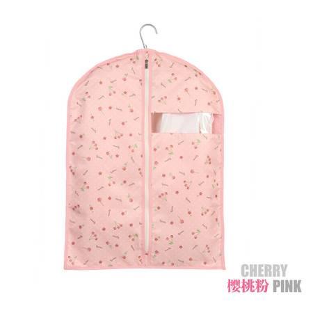 升级版短款大衣罩 五件套 小号可洗衣服防尘罩 可视窗西服罩 加厚 优质衣物挂袋收纳袋