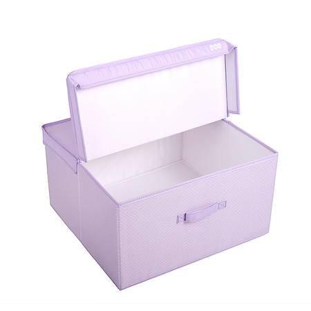 涤纶布衣服收纳箱玩具储物箱化妆品杂物整理箱内衣收纳盒