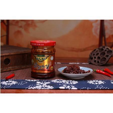 沙湖骆驼肉酱宁夏特产清真下饭肉酱拌面馒头卷饼火锅蘸酱调料170g*2