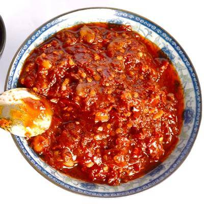 贵州农特产品 石阡和记 特色红油豆瓣酱 农家自制拌饭酱 拌面调料酱1000g/瓶