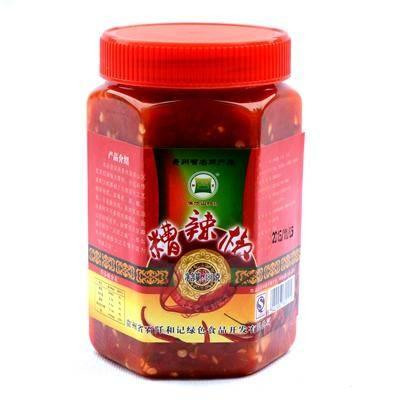 贵州农特产品 石阡和记 特色糟辣椒 调料品480g/瓶 温泉之乡特产