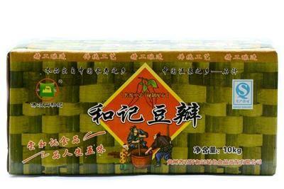 贵州农特产品 石阡和记 特色红油豆瓣酱 农家自制拌面调料酱10kg/箱