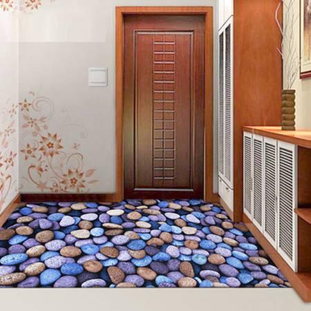 3D免洗定制防滑裁剪长条厨房进门门厅客厅门口入户门垫脚垫地垫子80cm*100cm
