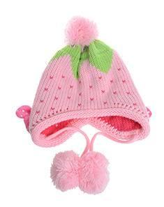2015款迪士尼女童护耳冬季帽子 可爱卡通韩版针织绒线菠萝帽