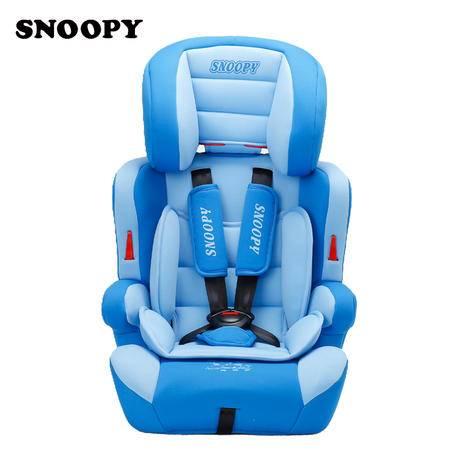 史努比汽车儿童安全座椅(荣耀骑士系列)适合9个月-12岁儿童使用