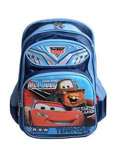 新款迪士尼麦昆书包汽车总动员 小学生双肩包男款凹凸立体画面书包