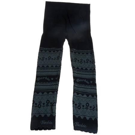 芭比女童春秋打底裤冬季保温裤时尚连裤袜