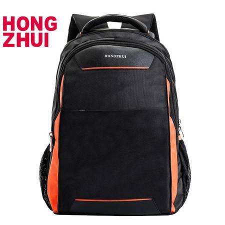 红缀 休闲时尚电脑包双肩包大容量秋冬季户外旅行包hz