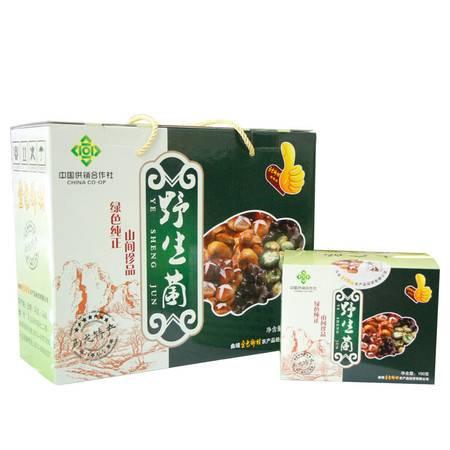 云南马龙野生菌礼盒400g