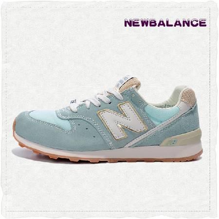 代购New Balance新百伦 NB正品普罗旺斯女子天蓝慢跑鞋 WR996PMI