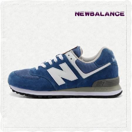 正品代购New Balance旗舰店 新百伦复古奥运五环蓝色男女跑步鞋 ML574UT