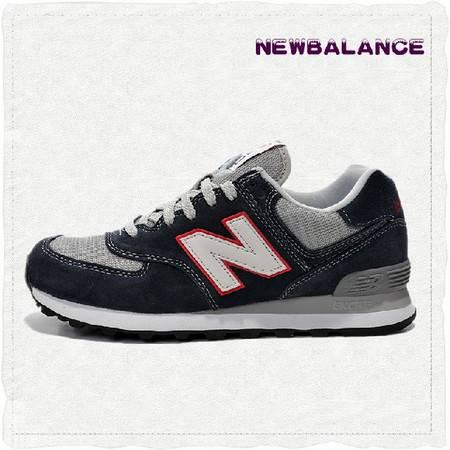 正品代购New Balance 新百伦NB复古休闲黑色男女鞋运动鞋慢跑鞋ML574VEC