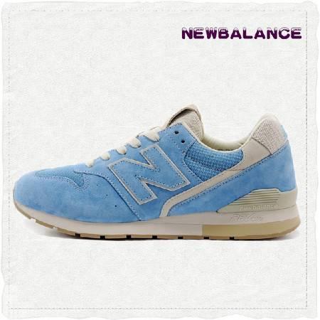 正品New Balance NB代购新百伦情侣鞋薰衣草普罗旺斯蓝色男女跑步鞋MRL996CT