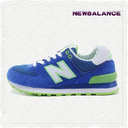 正品New Balance新百伦 NB谢娜杨幂女子绿色跑步鞋运动鞋WL574YKG