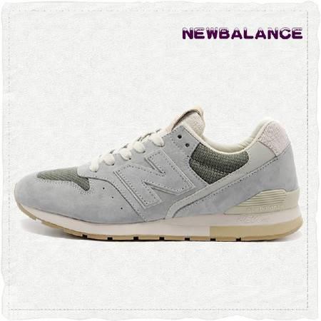 正品New Balance NB代购 新百伦薰衣草普罗旺斯灰色男女跑步鞋MRL996CG