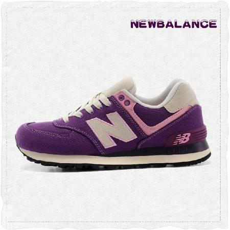 New Balance旗舰店 新百伦代购旅行家海洋珊瑚礁深紫女子跑鞋 WL574RUV