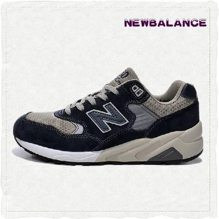 New Balance 正品 580 NB新百伦男女鞋 黑色复古运动鞋鞋慢跑鞋MRT580NV