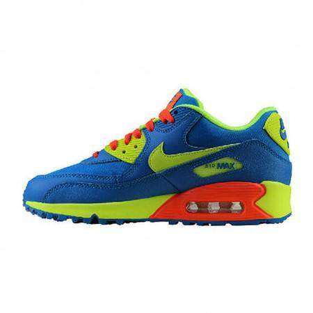 正品耐克女鞋 AIR MAX 90 GS 女子气垫增高跑步鞋 307793-410/700