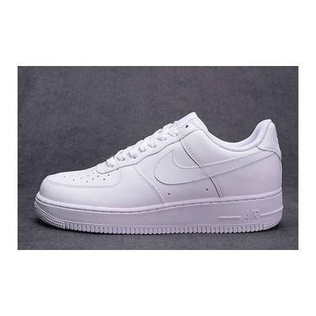 正品耐克男鞋Air Force1女鞋空军一号新款休闲板鞋黑白秋冬运动鞋