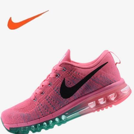 耐克女鞋 正品nike max气垫女鞋飞线编织跑步鞋运动鞋