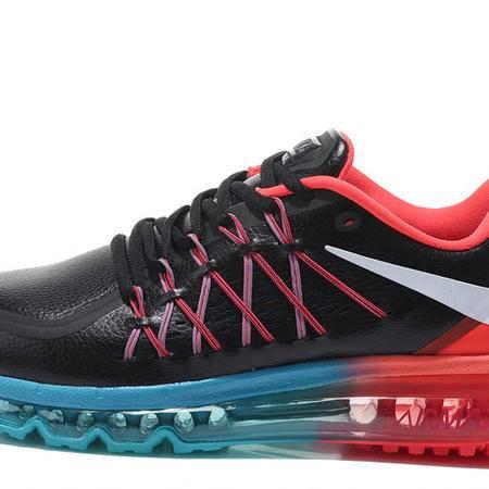 耐克男鞋Nike Air Max跑步鞋全掌气垫皮面女鞋情侣减震休闲运动鞋