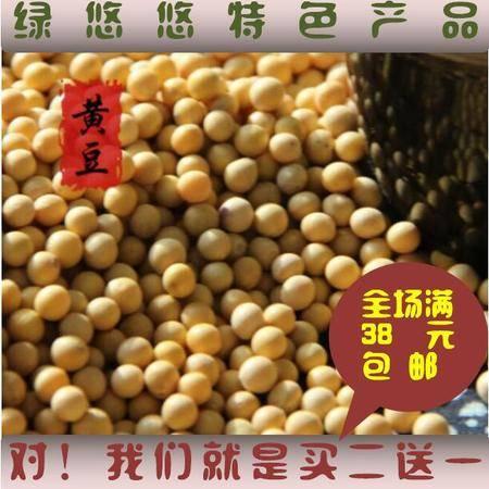 【绿悠悠】非转基因 黄豆山东农户自种小黄豆 可发豆芽豆浆250g