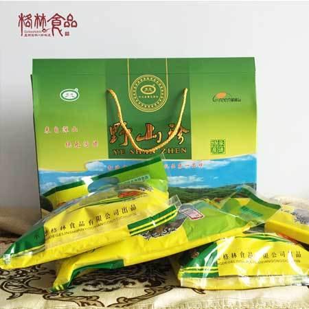 承德隆化特产 格林食品  包邮  野山珍 礼盒  150gx4 0033