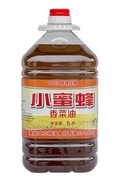 巴南小蜜蜂5L清香菜油