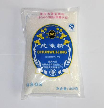 重庆天厨 晶体无盐味精 500g 整件155元重庆可免邮 老字号 特产