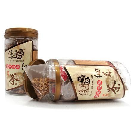 儋耳菌业灵芝茶,菌草鹿角灵芝细茸茶单瓶装,绿色种植专利产品