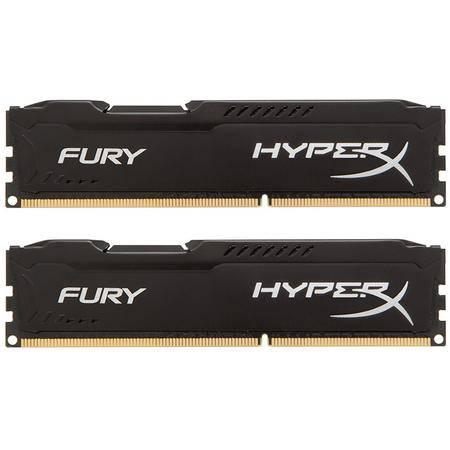 金士顿(Kingston)骇客神条 Fury系列 DDR3 160016GB(8GBx2)