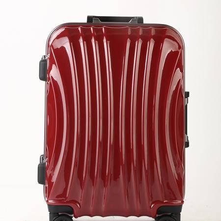 铝框SF-005纯加厚寸拉杆箱密码20寸旅行箱拉杆箱登机箱硬箱