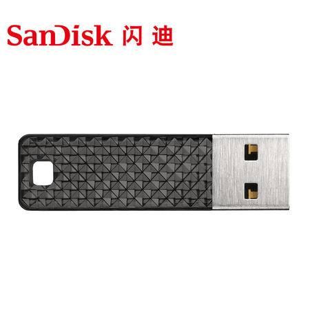 闪迪酷钻USB闪存盘CZ55 32G 闪亮外壳超薄商务U盘优盘