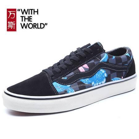 万斯低帮男鞋女鞋春夏季滑板鞋男士韩版休闲鞋帆布鞋学生运动鞋子