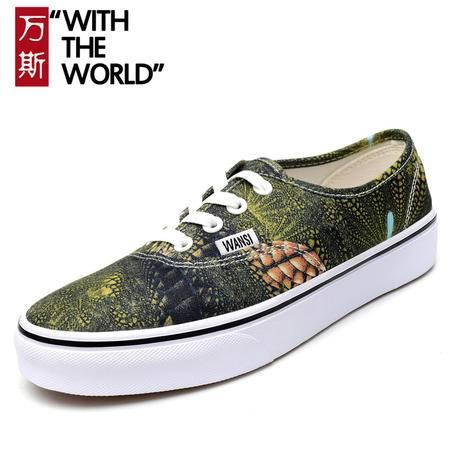 正品万斯低帮男鞋女鞋经典款帆布鞋低帮情侣板鞋运动休闲鞋滑板鞋