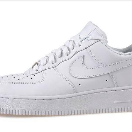 NIKE男鞋空军一号女鞋全白高帮低帮休闲复古板鞋跑步运动鞋情侣鞋