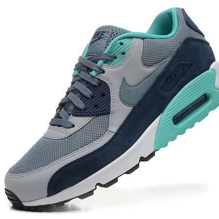 耐克新款男鞋 AIR MAX 90 蒂凡尼气垫跑步鞋增高Nike男子运动鞋透气休闲鞋