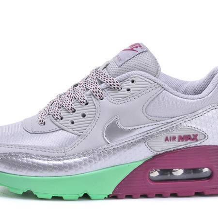 耐克NIKE MAX90 女鞋复古跑步鞋 韩版休闲鞋透气网面厚底增高气垫运动鞋